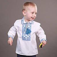 Детская вышиванка для мальчика на длинный рукав, фото 1