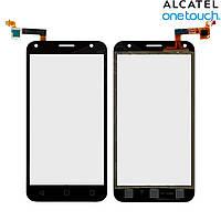 Touchscreen (сенсорный экран) для Alcatel One Touch 5010D Pixi 4 (5), черный, оригинал