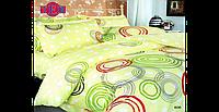 Постельное белье 606 «Круги разноцветные» ТЕП