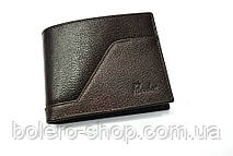 Мужской кошелек коричневый черный кожаный брендовый Piccorder , фото 3