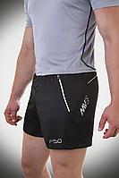 Мужские брендовые шорты короткие спортивные черные