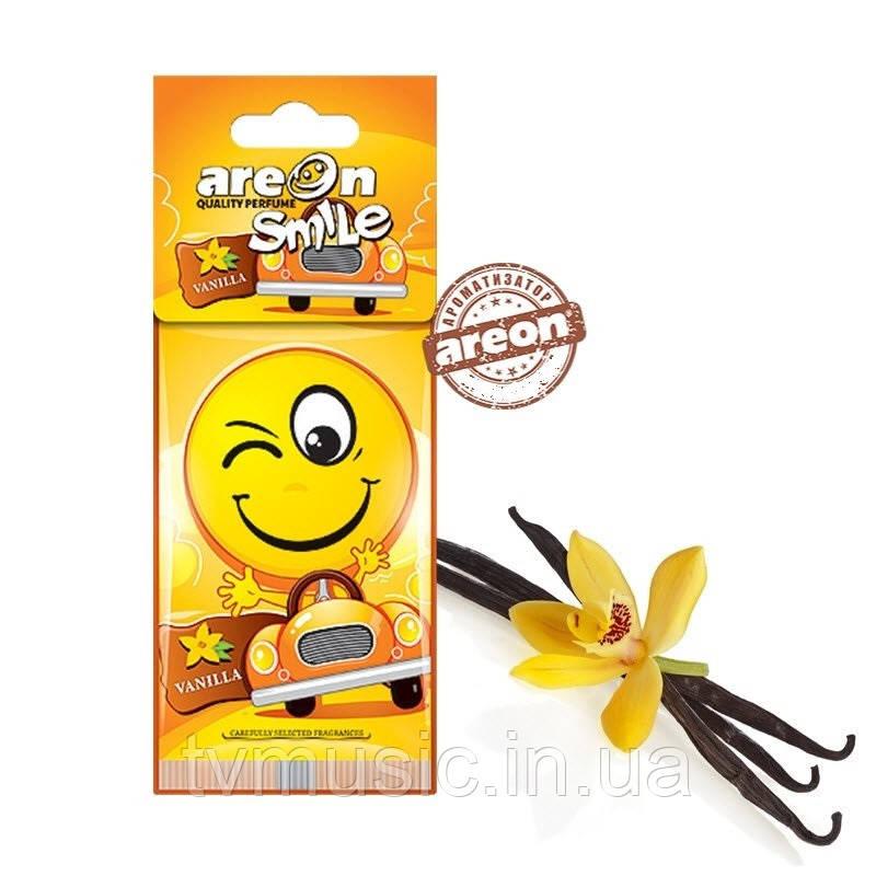 Ароматизатор Areon Smile Dry Vanilla / Ваниль
