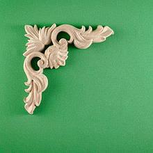 Код ДУ2. Деревянный резной декор для мебели. Декор угловой