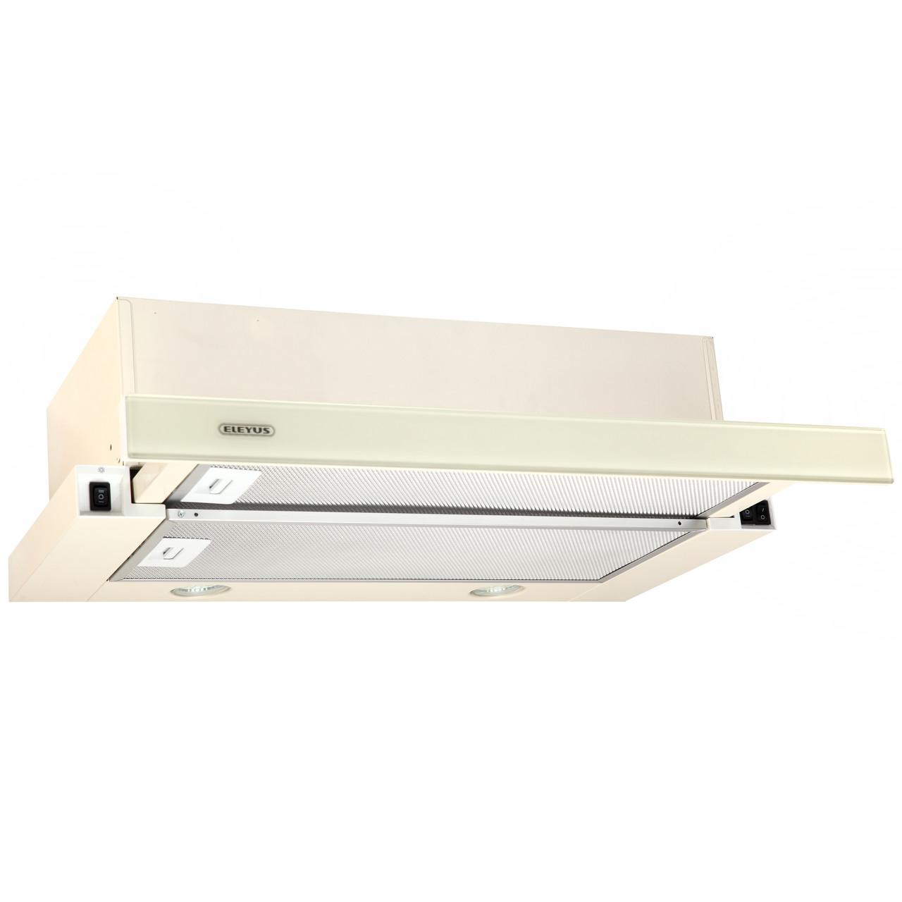 Витяжка кухонна телескопічна ELEYUS Storm G 700 LED SMD 60 BG + Безкоштовна доставка!