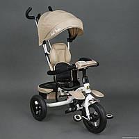 Велосипед 3-х колёсный 6699 Best Trike, надувные колёса, поворотное сидение, фара, ключ зажигания