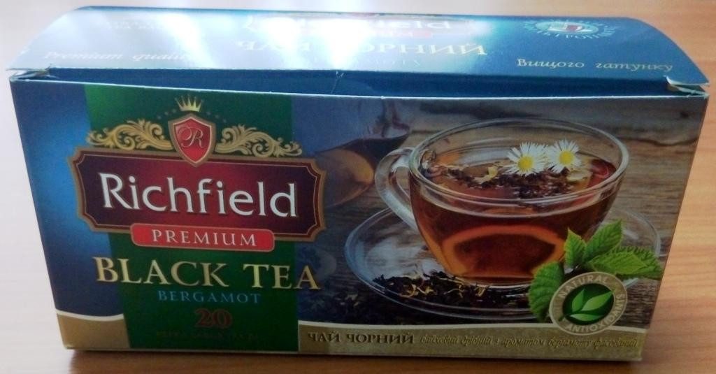 Премиум чай черный ТМ Richfeild, 2.5 г