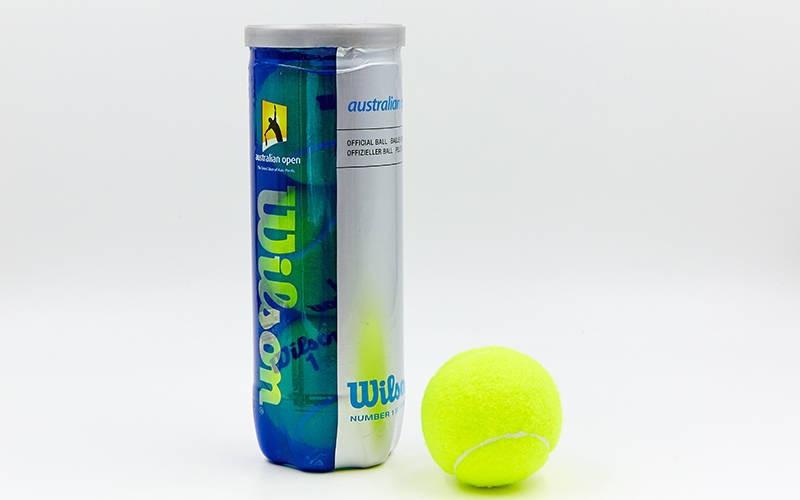 Мяч для большого тенниса WILSON (3шт) AUSTRALIAN OPEN - ADX.IN.UA в Одессе