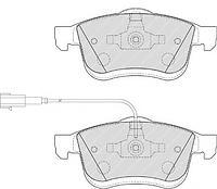Оригинальные передние колодки FIAT Doblo вэн(263) от 2010г, Doblo фургон(263) от 2010г