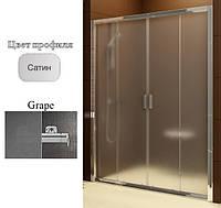 Душевая дверь Ravak BLDP4-180 Grape+Satin, фото 1