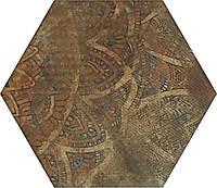 Плитка Атем для пола Atem Hexagon Hexagon R Zuriza Mix 400 х 400 (Зуриза напольная коричневая)