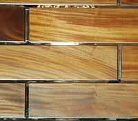Эксклюзивные декоративные панели с зеркалами из акации или африканских пород
