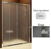 Душевые двери Ravak BLDP4-190 Grape+Satin, фото 1
