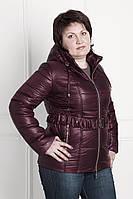 Женская куртка по распродаже К 130 бордо