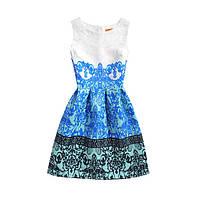 Платье Helga с рисунком СС7099
