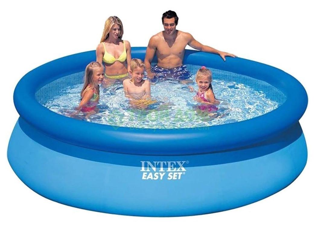 Семейный надувной бассейн Easy Set Intex 28120 (56920) (305*76 см)