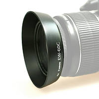 Бленда Canon EW-60C  для  EF-S 18-55mm IS/ EF-S 18-55mm II, фото 1