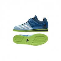 Штангетки Adidas Powerlift 3 (Синие/Зеленые) 44