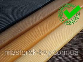Полиуретан обувной ШОСТКА EXTRA LUX рифлёный 200*400*6 мм, цвет черный