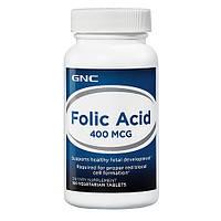 Препарат для оптимизации работы сердечно-сосудистой системы GNC Folic Acid 400 мг (100 таб)
