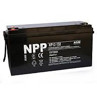 Свинцово-кислотный аккумулятор NP12-150 (NPP)