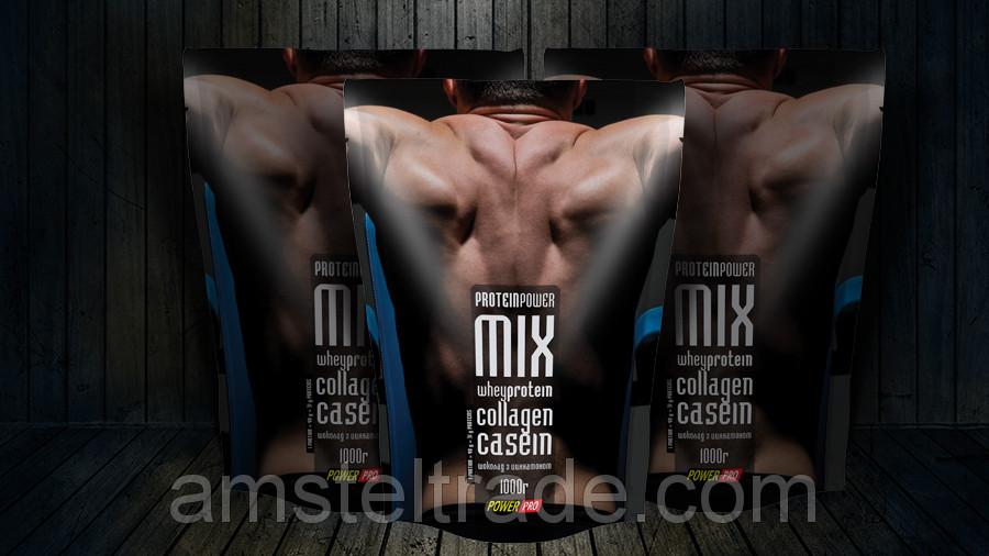 Protein Powder Mix Casein Белковая смесь, вкус Корица,  1 кг
