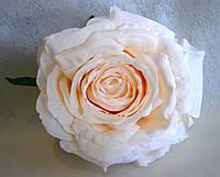 Искусственные цветы из ткани головка Розы.