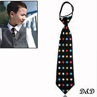 """Детский галстук """"Звезда цвета"""""""