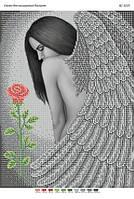 """Схема для частичной вышивки бисером """"Ангел"""""""