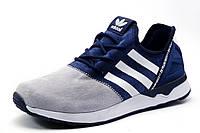 Кроссовки Adidas ZX FLUX BB2211 мужские, синие с серым, р. 41 43 44 45 46