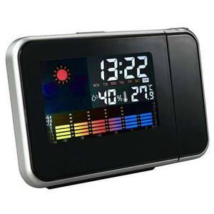 Метеостанция с часами проектором модели Сolor Screen Calendar 8190