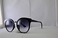 Солнцезащитные очки Кошачий глаз черные