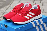 Мужские кроссовки Adidas zx flux Красный