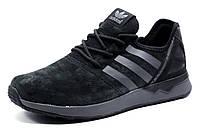 Кроссовки Adidas ZX FLUX BB2211 мужские, черные, р. 41 43 44 45