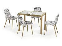 Стеклянный обеденный стол Epir 100/60 (Halmar)