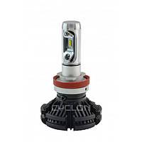 Лампа LED головного света H8-11 6000K 6000Lm PH type 7 CYCLON