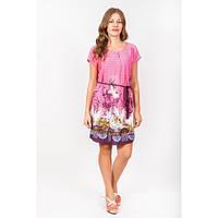 Летние платье  с ярким принтом