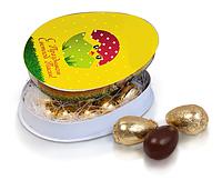 Конфеты пасхальные в картонной коробке