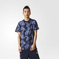 Стильная футболка для мужчин Adidas Splinter Camouflage BK2192 - 2017