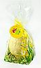Яйцо шоколадное пасхальное из белого шоколада в брендированной упаковке