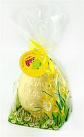 Яйцо шоколадное пасхальное из белого шоколада в брендированной упаковке, фото 1