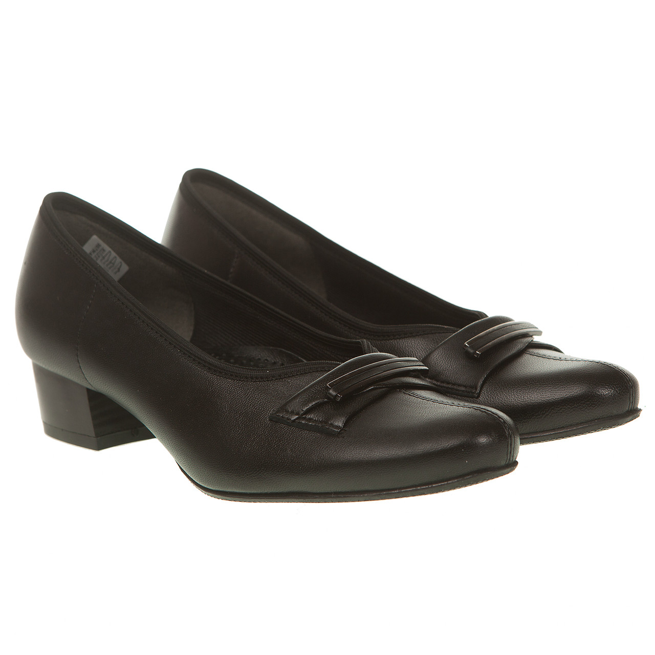 404e8bb73b4fe1 Туфли женские Kostex (кожаные, черные, на удобном каблуке, удобные,  качественные)