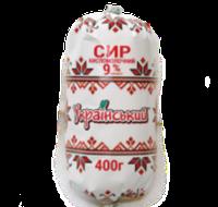 "Творог жирностью 9% 400г.(Богодухов) туба ""ТМ Украинский"""
