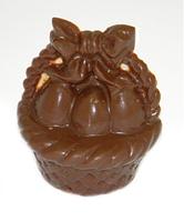 Пасхальная шоколадная корзина в брендированной упаковке, фото 1