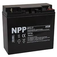 Свинцово-кислотный аккумулятор NP12-17 (NPP)