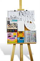 Мега комплект для рисования + мольберт