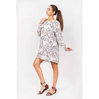 Яркое летнее платье для модниц
