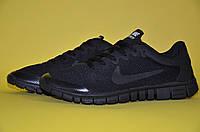 Кроссовки мужские Nike Free Run 3.0 черные