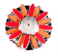 Сумкодержатель Jinli JIN100 ромашка красно-коричневый