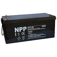Свинцово-кислотный аккумулятор NP12-200 (NPP)
