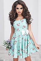 Женское льняное платье 24601 КТ-1050